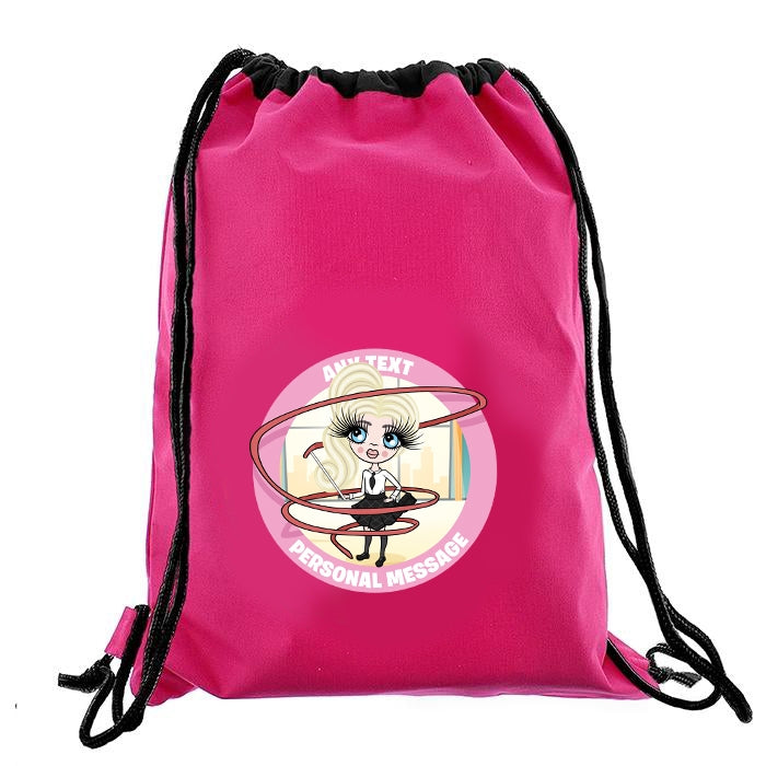 ClaireaBella Girls Gymnastics Drawstring Bag - Image 6