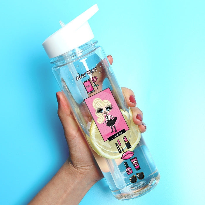 ClaireaBella Girls Fashion Water Bottle - Image 1