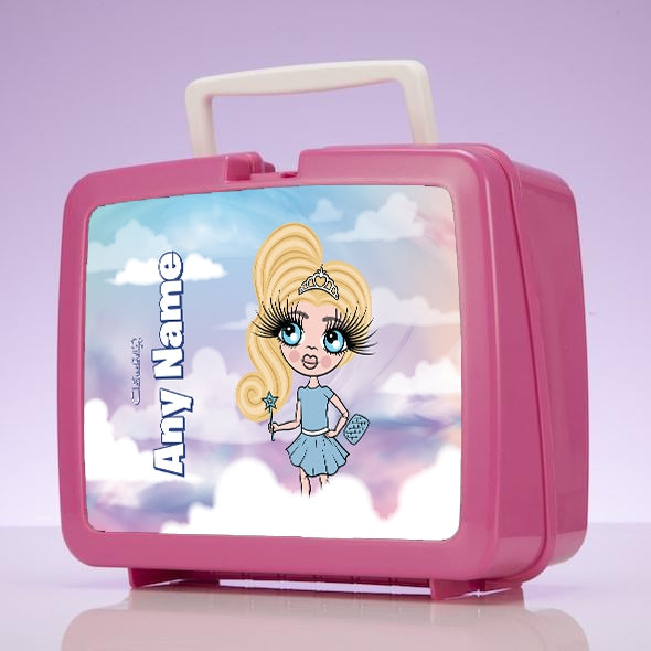 ClaireaBella Girls Clouds Lunch Box - Image 1