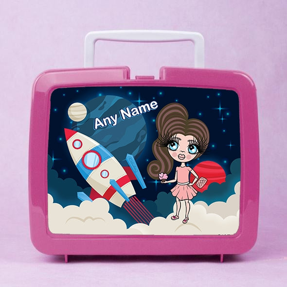 ClaireaBella Girls Rocket Lunch Box - Image 1