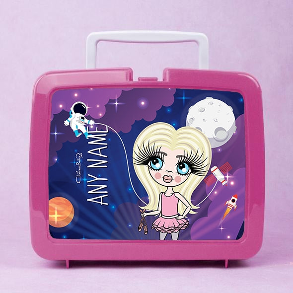ClaireaBella Girls Galaxy Lunch Box - Image 1