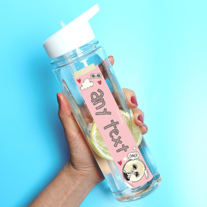 ClaireaBella Girls Sketches Water Bottle - Image 1