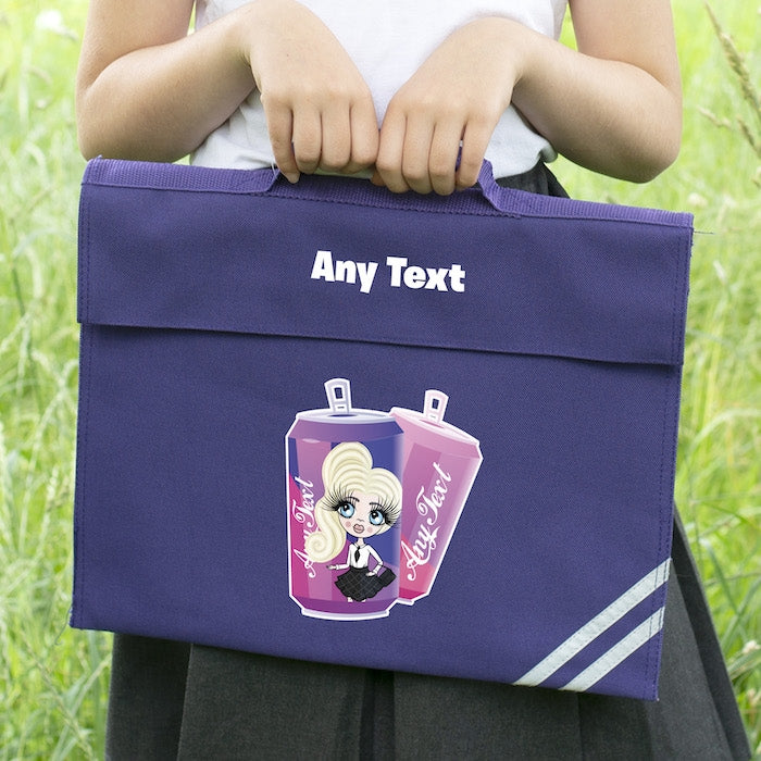 ClaireaBella Girls Soda Fun Book Bag - Image 1