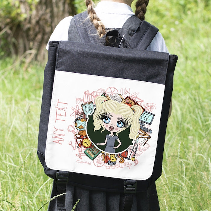 ClaireaBella Girls Stationery Backpack - Image 3