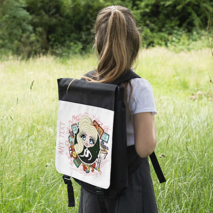 ClaireaBella Girls Stationery Backpack - Image 5