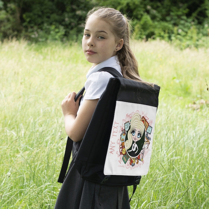 ClaireaBella Girls Stationery Backpack - Image 6