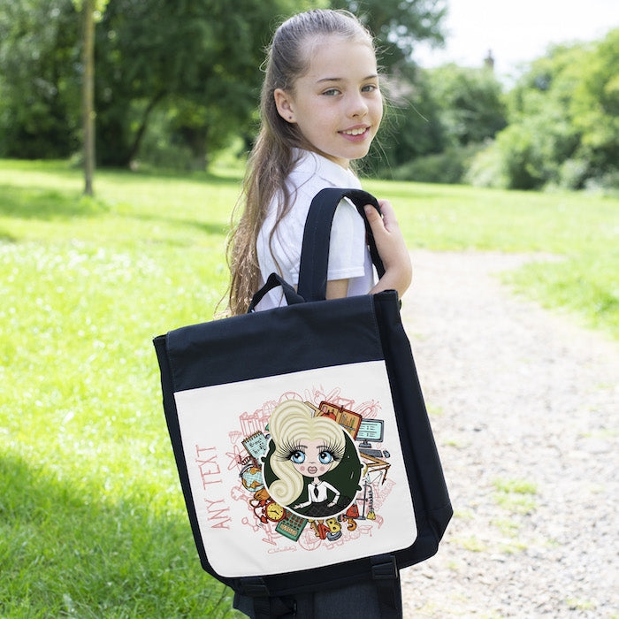 ClaireaBella Girls Stationery Backpack - Image 2