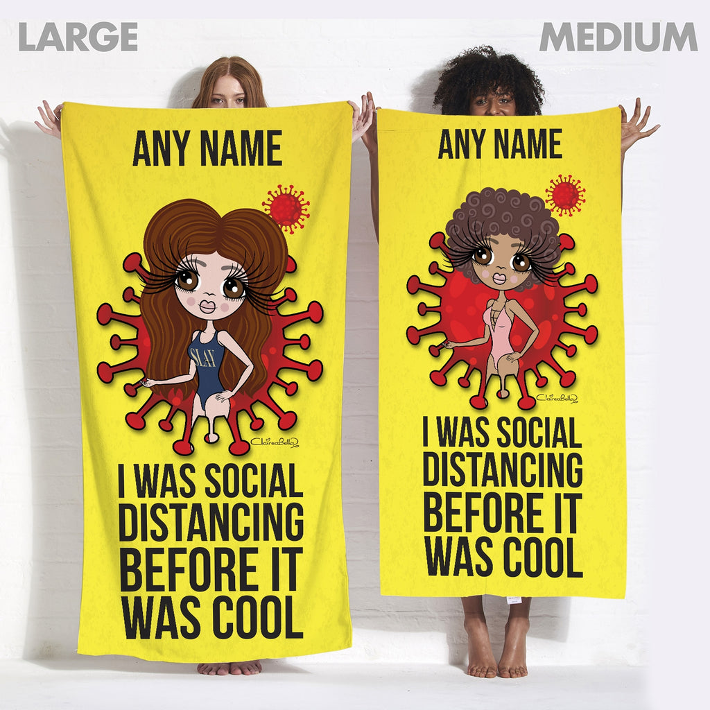 ClaireaBella Social Distancing Beach Towel - Image 5