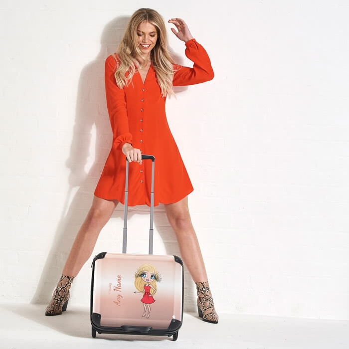 ClaireaBella Blush Weekend Suitcase - Image 1