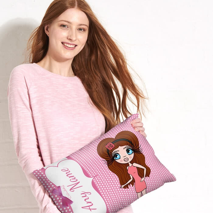 ClaireaBella Placement Cushion - Polka Dot - Image 4