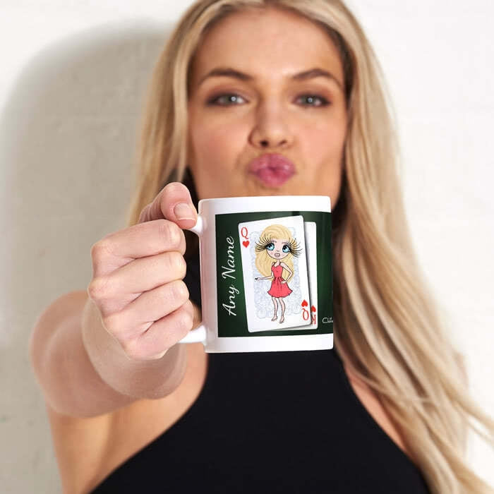 ClaireaBella Queen Of Hearts Mug - Image 1