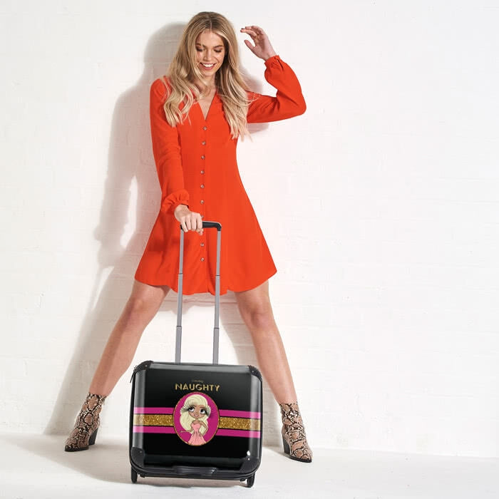 ClaireaBella Slogan Weekend Suitcase - Image 2