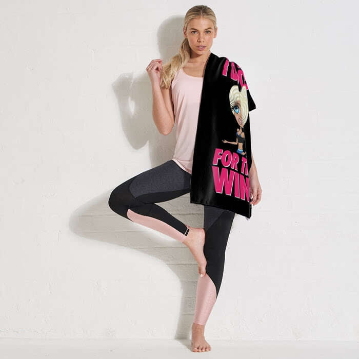 ClaireaBella Do It For The Wine Gym Towel - Image 4