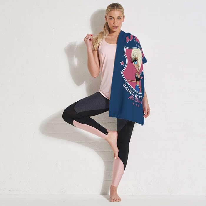 ClaireaBella Varsity All Stars Gym Towel - Image 5