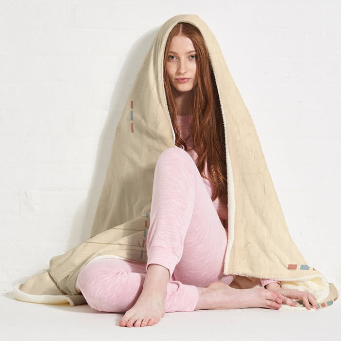 ClaireaBella Paris Hooded Blanket - Image 7