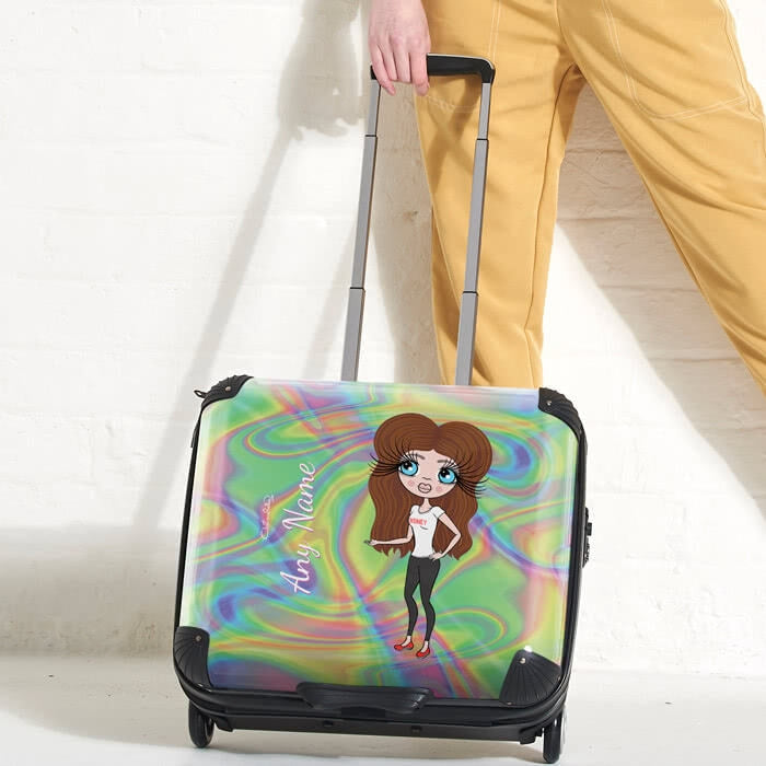 ClaireaBella Hologram Weekend Suitcase - Image 1
