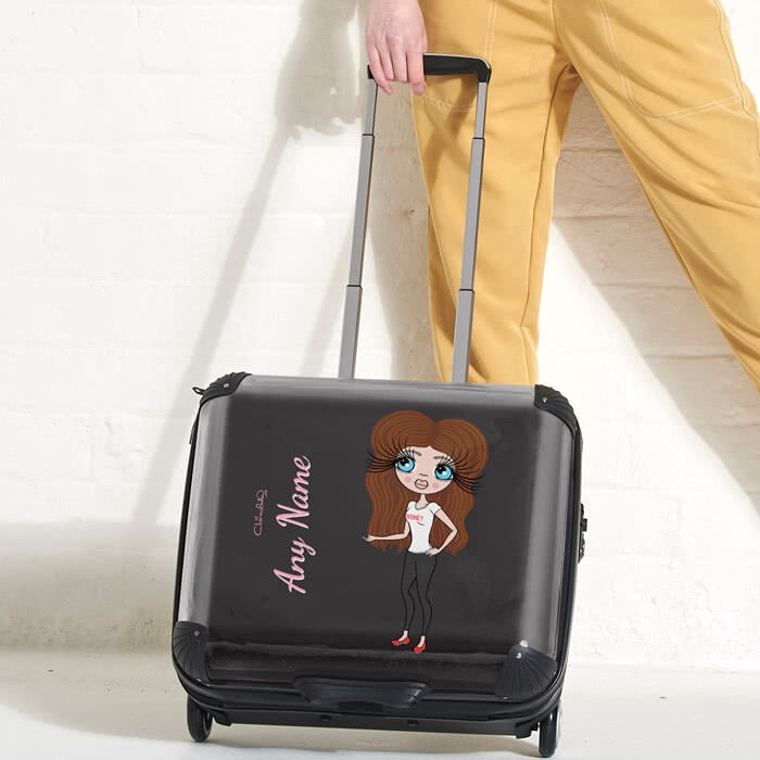 ClaireaBella Black Weekend Suitcase - Image 2