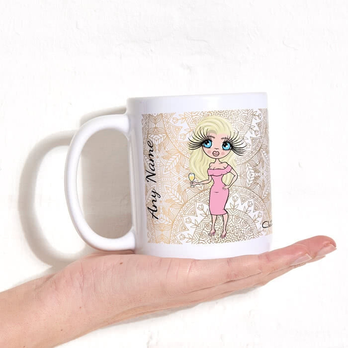 ClaireaBella Golden Lace Mug - Image 2