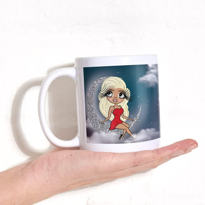 ClaireaBella Love You To The Moon Mug - Image 1