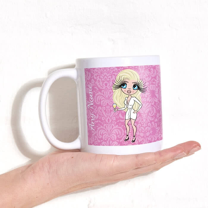 ClaireaBella Lilac Floral Mug - Image 3