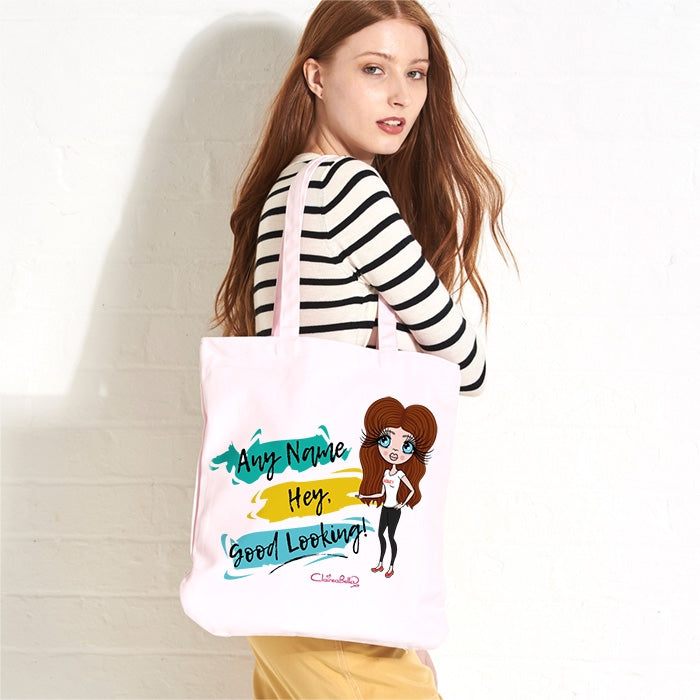 ClaireaBella Good Looking Pastel Canvas Shopper - Image 1