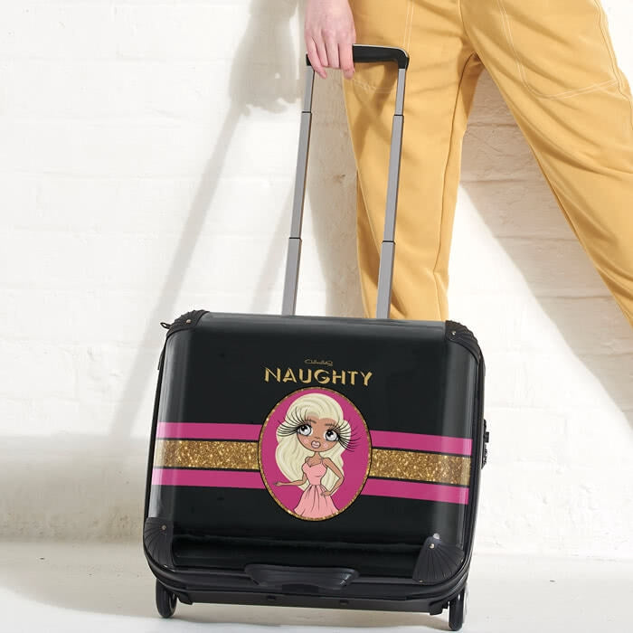 ClaireaBella Slogan Weekend Suitcase - Image 1