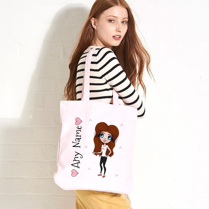 ClaireaBella Pastel Canvas Shopper - Image 2