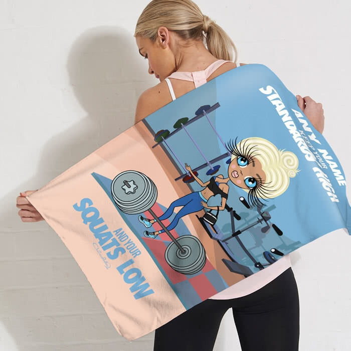 ClaireaBella Standards High Gym Towel - Image 2