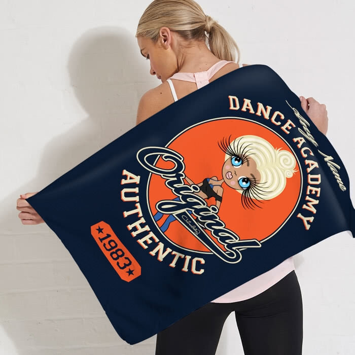 ClaireaBella Varsity Gym Towel - Image 2