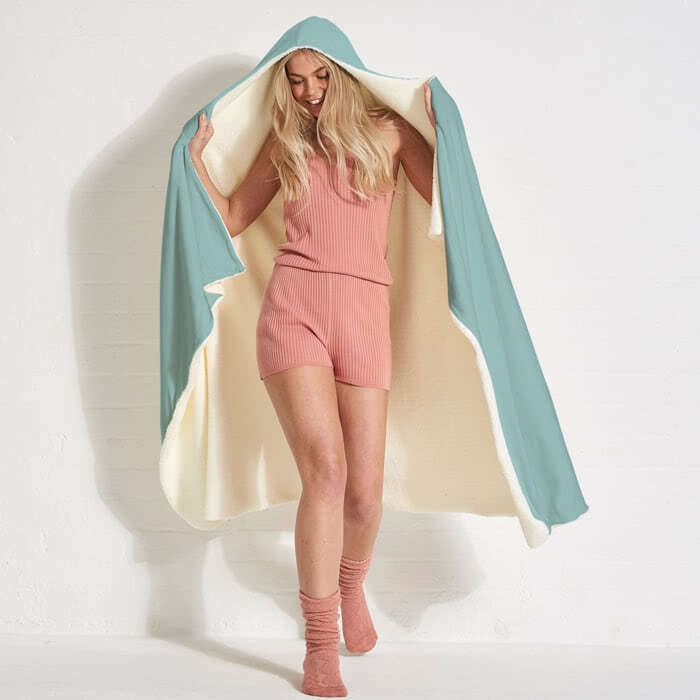 ClaireaBella Hangover Hooded Blanket - Image 5