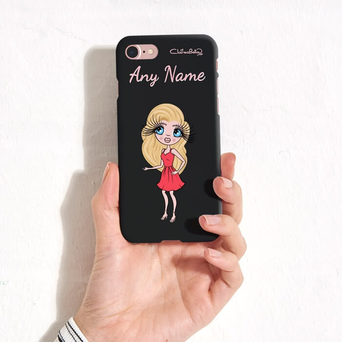 ClaireaBella Personalised Black Phone Case - Image 4