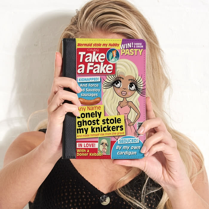 ClaireaBella Fake News iPad Case - Image 1