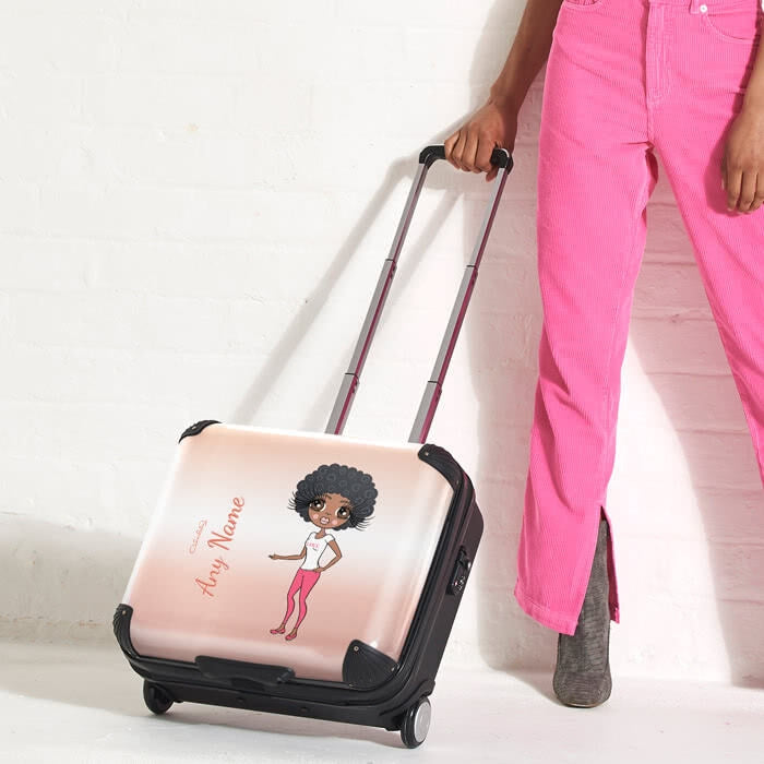 ClaireaBella Blush Weekend Suitcase - Image 2