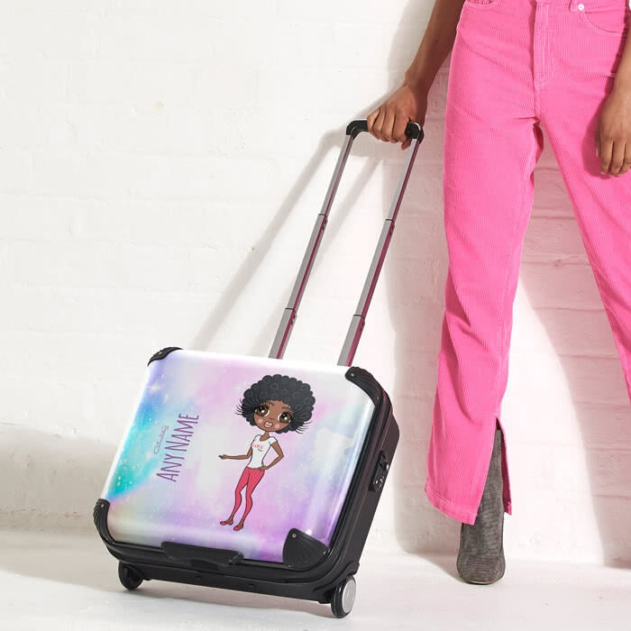ClaireaBella Unicorn Colours Weekend Suitcase - Image 1