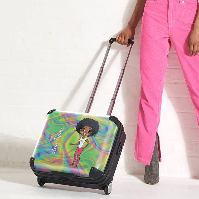 ClaireaBella Hologram Weekend Suitcase - Image 4