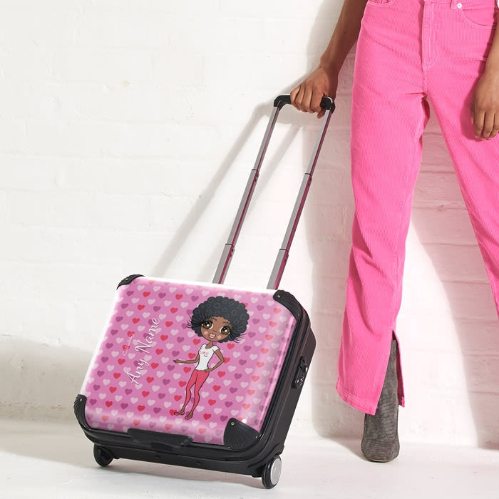 ClaireaBella Hearts Weekend Suitcase - Image 1