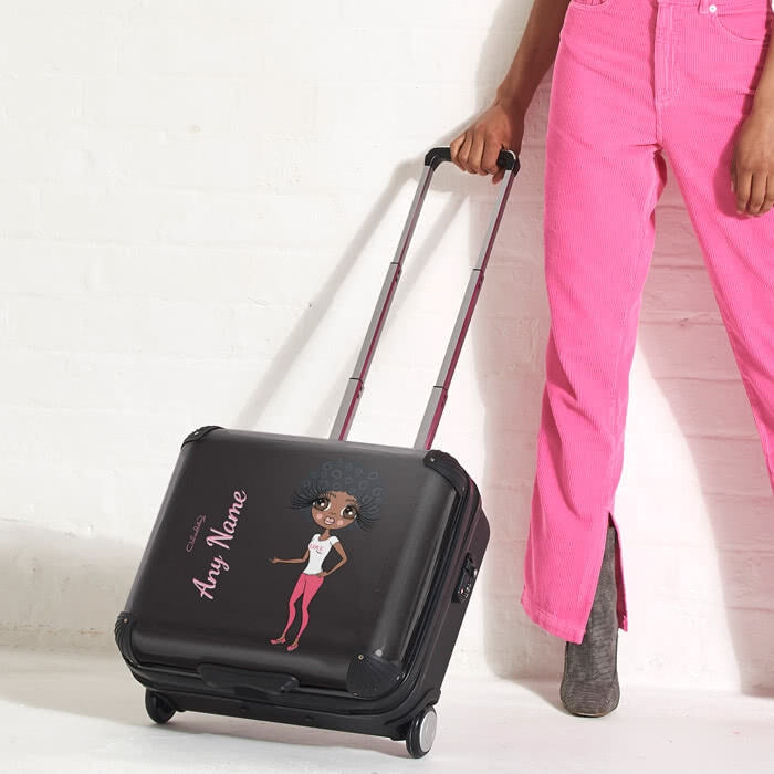 ClaireaBella Black Weekend Suitcase - Image 4
