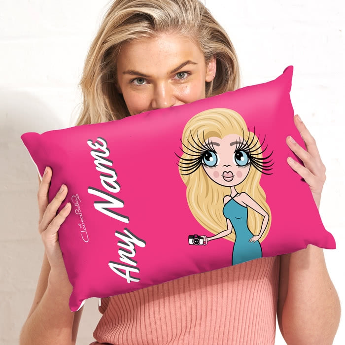 ClaireaBella Placement Cushion - Hot Pink - Image 4