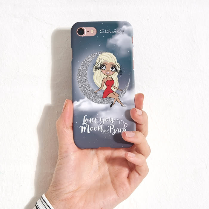 ClaireaBella Love You To The Moon Phone Case - Image 7