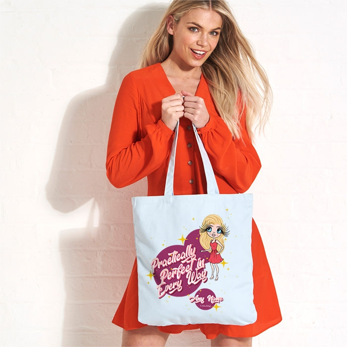 ClaireaBella Perfect In Everyway Pastel Canvas Shopper - Image 1
