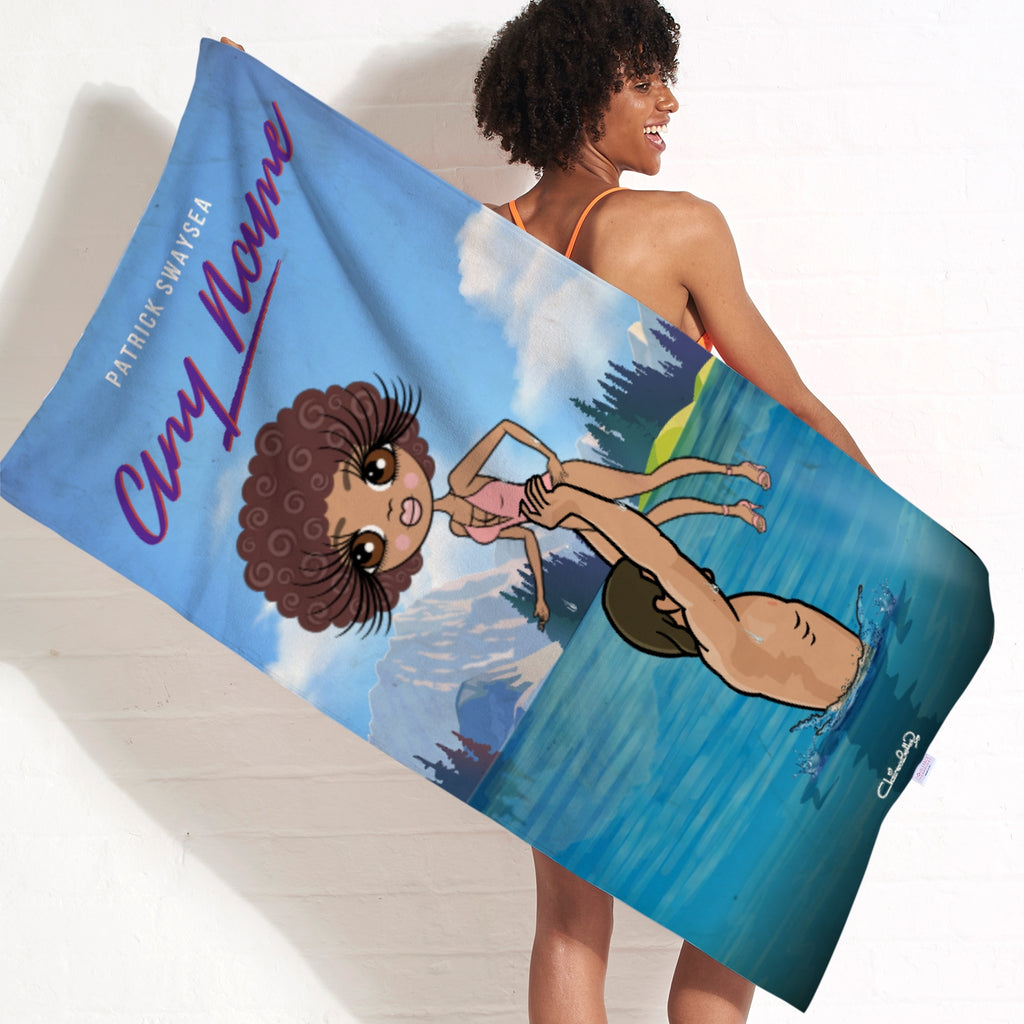 ClaireaBella Filthy Dancing Beach Towel - Image 2