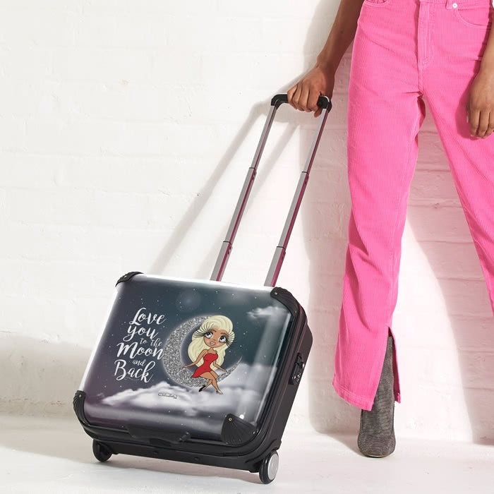ClaireaBella Love You To The Moon Weekend Suitcase - Image 6