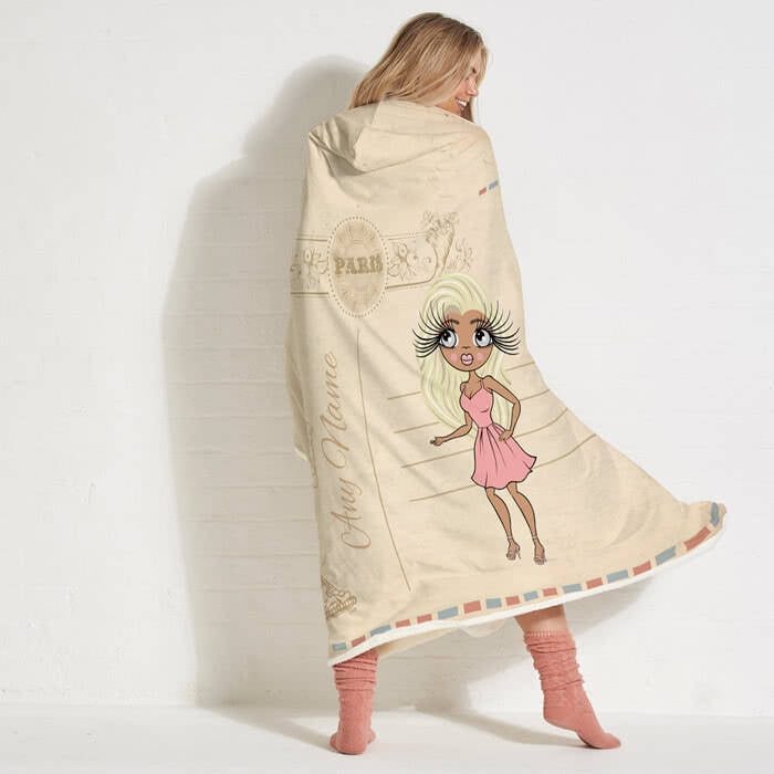 ClaireaBella Paris Hooded Blanket - Image 2
