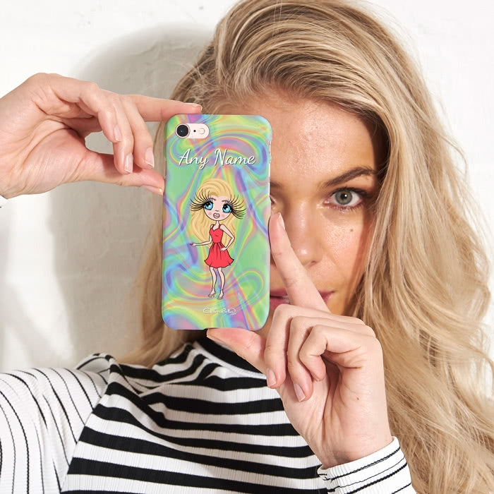 ClaireaBella Personalised Hologram Phone Case - Image 5