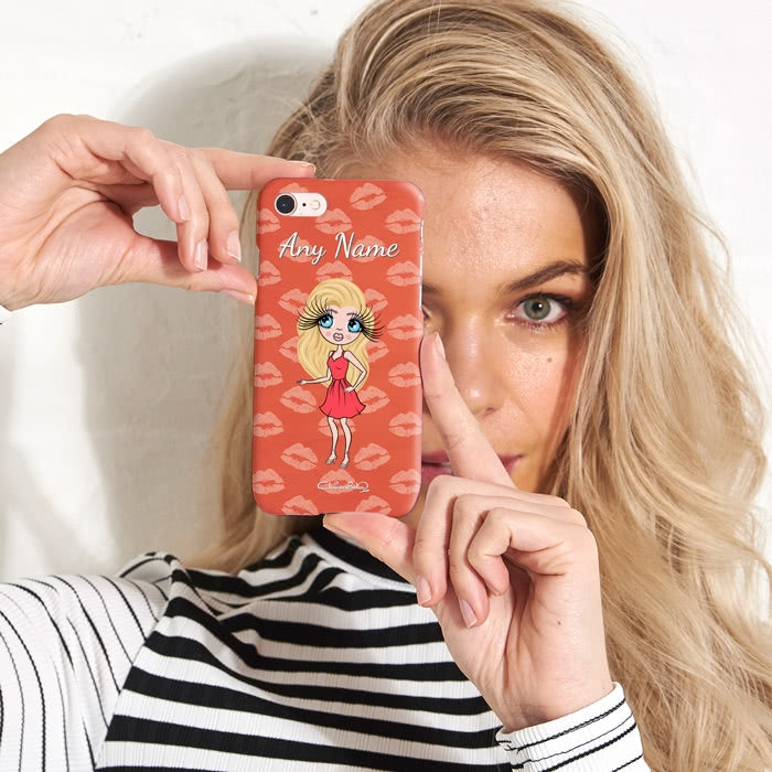 ClaireaBella Personalised Lip Print Phone Case - Image 1