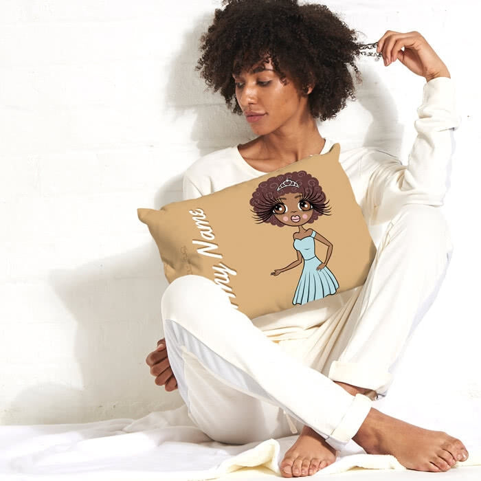 ClaireaBella Placement Cushion - Mocha - Image 1