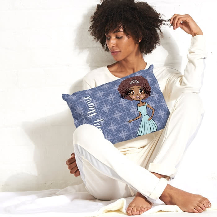 ClaireaBella Placement Cushion - Navy - Image 1