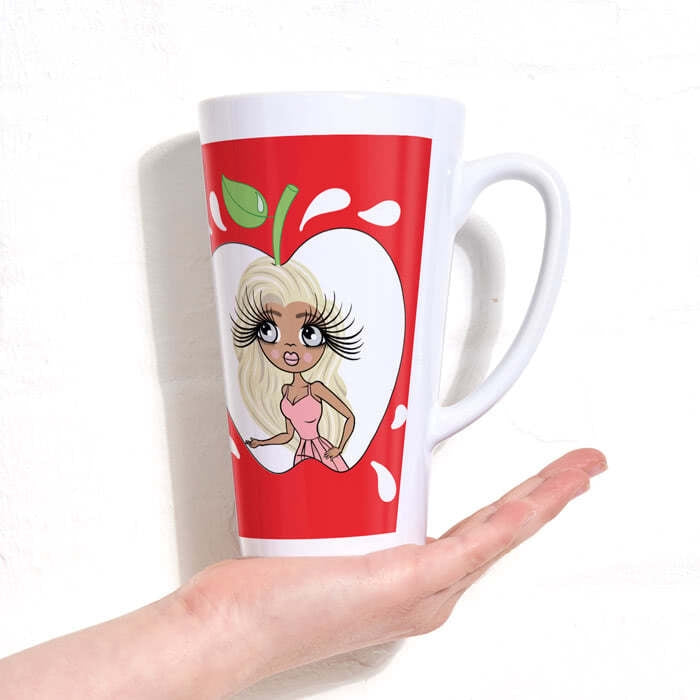 ClaireaBella Latte Mug - Teacher's Apple - Image 5