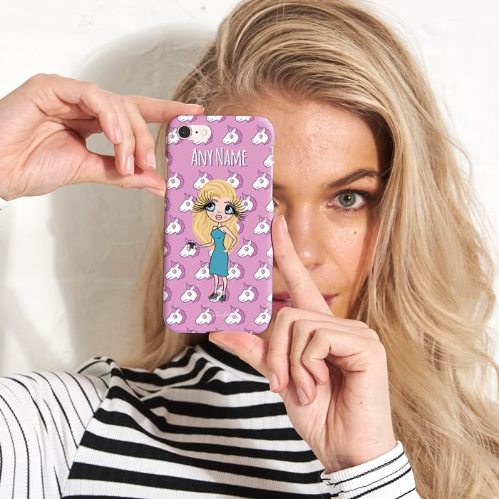 ClaireaBella Personalised Unicorn Emoji Phone Case - Image 2