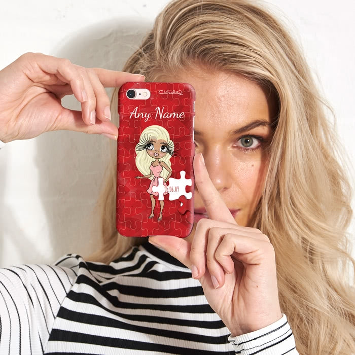 ClaireaBella Personalised Piece of Me Phone Case - Image 1